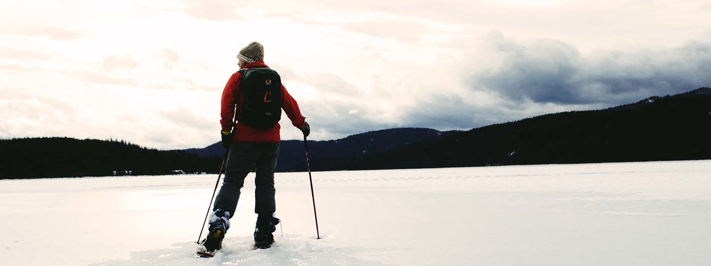 Snowshoeing to Nowhere